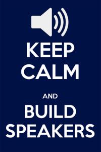 build speakers